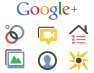 Google Plus Icon Set